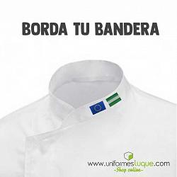 Bordado bandera